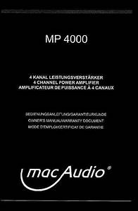 Mac Audio Mp 4000 Car Radio Download Manual For Free Now
