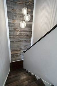 Stairwell ideas basement stair ideas stairs storage small for Best brand of paint for kitchen cabinets with wall art for staircase wall