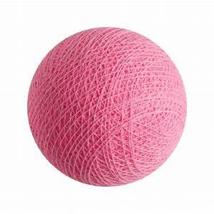 Guirlande Lumineuse Boule Rose : boule lumineuse couleur rose clair gamme premium la case de cousin paul ~ Melissatoandfro.com Idées de Décoration