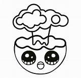 Emoji Colorealo sketch template