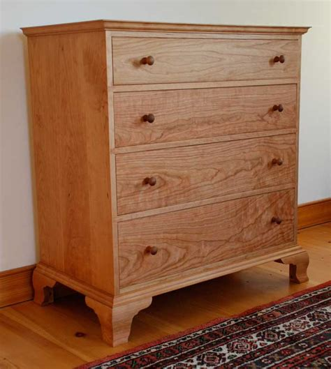 wood dressers for solid cherry wood dresser handmade in vermont