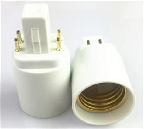 4 pin light bulb adapter for 4 pin socket cfl led bulbs