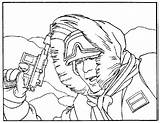 Hoth Coloriages Sideshow sketch template