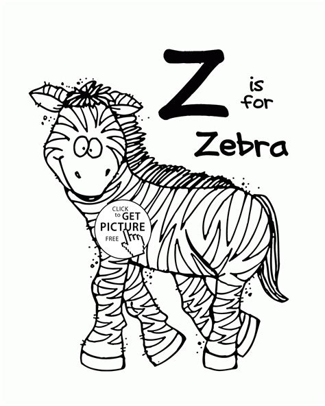 Alphabet S Free Words For Ea3a4 Coloring Pages Printable Letter Z Alphabet Coloring Pages For Letter Z