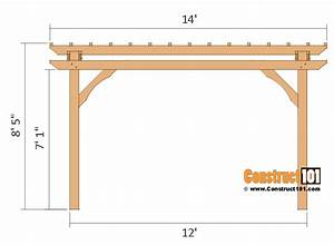 12x12 Pergola Plans - Free Pdf Download