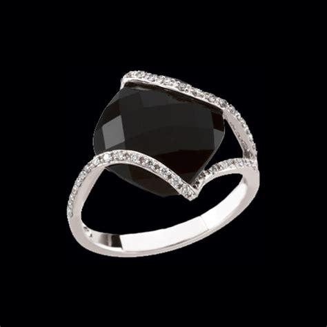 white gold onyx diamond ring