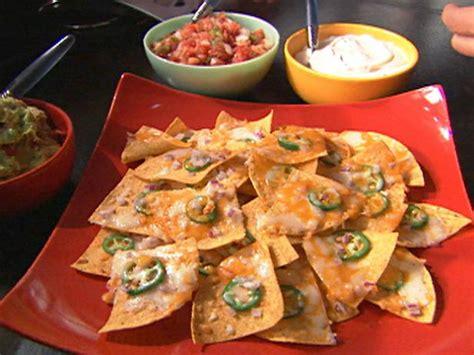 ultimate nachos recipe alton brown food network
