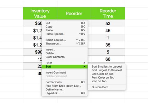 Kitchen And Company Gift Card Balance by Free Excel Inventory Spreadsheet 5 Best Ways To Manage