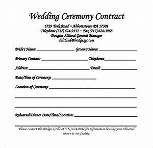 wedding contract template images template design ideas With wedding photography contract template word