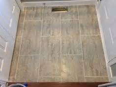 i love my new bathroom floor it s peel and stick