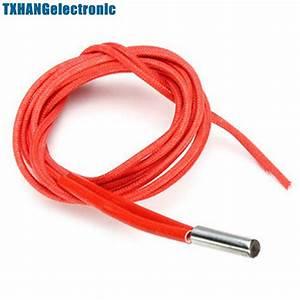10pcs Reprap 24v 40w Ceramic Cartridge Wire Heater For 3d