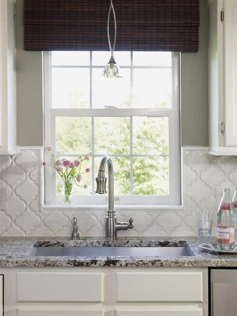 beveled arabesque tile arabesque backsplash tiles design ideas