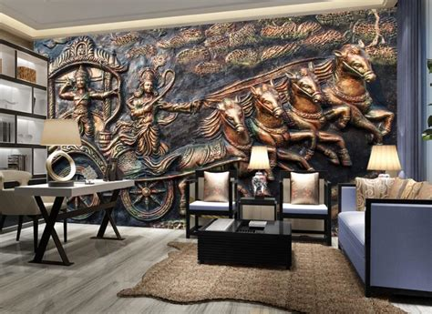 customize wallpaper  walls   india mahabharata photo