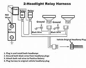 H4 Headlight Wiring Relay Instructions   Octane Lighting