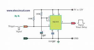 One  U2013 Shot Timer Use Ic Ne555 Circuit