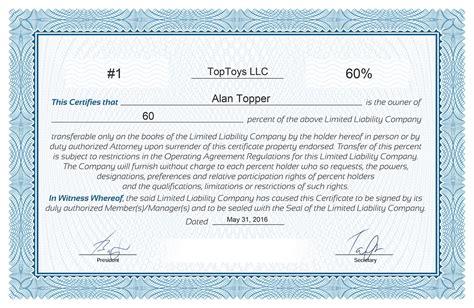 llc membership certificate template llc membership certificate template best templates ideas