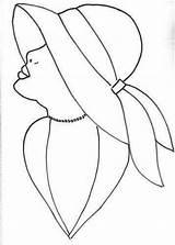 Rostros Dibujo sketch template