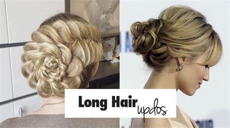 easy updo hairstyles  long hair updated