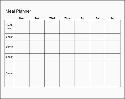 exercise planner template sampletemplatess