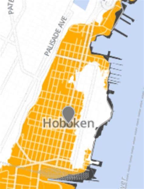 Latest Fema Flood Map Shrinks Hobokens Highest Risk Zones