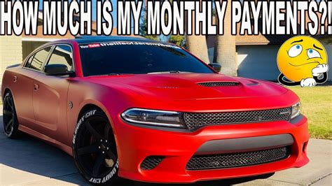 How Much Does A Dodge Hellcat Cost by How Much Does It Cost Me A Month For My Hellcat Charger