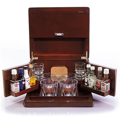 Bar Accessories Sale by Brookstone 174 Mini Bar Portable Tabletop Bar Accessories