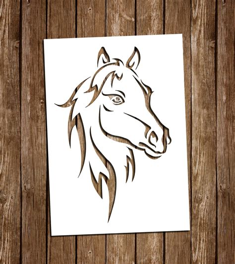 Impressive paper crafts from inspiring paper cutting project ideas to scrapbook designs. Horse SVG Cutting Files PDF Paper Cutting Template Horse ...