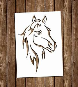 Horse Svg Cutting Files Pdf Paper Cutting Template Horse