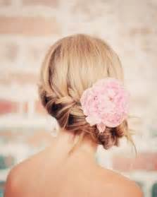 Wedding Hair Side Bun with Braid