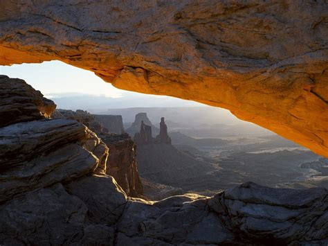 canyonlands national park highland arc wallpaper apercu