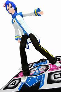 Kaito playing dance dance revolution by Zaicy on DeviantArt