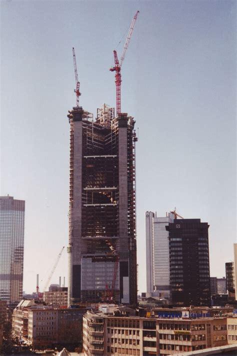 Commerzbank Tower Frankfurt Construction Pinterest