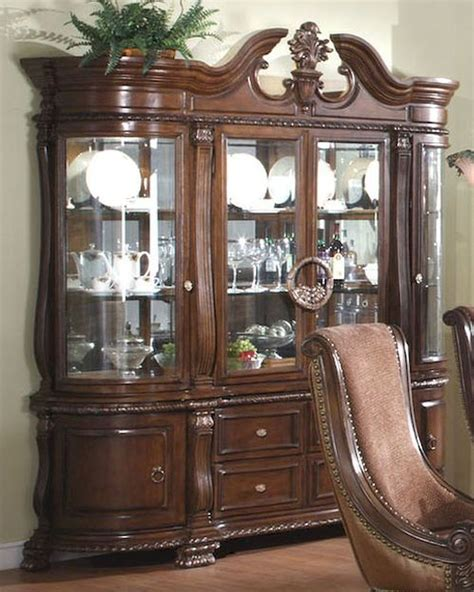 Cherry Buffet And Hutch - buffet and hutch in warm cherry mcfrd400 hb