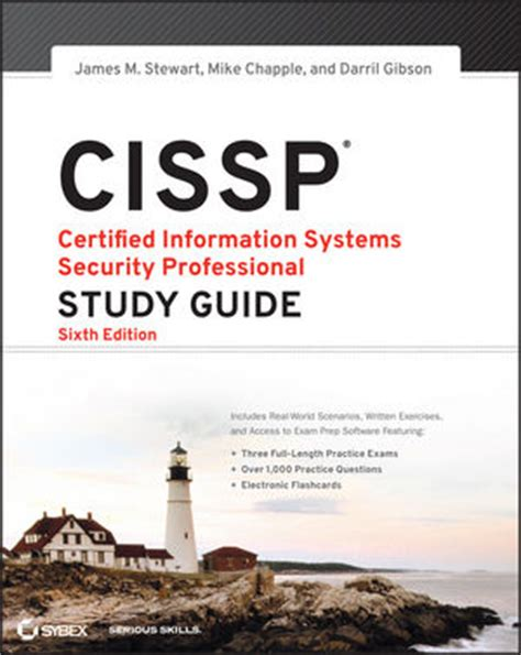 sybex cissp certified information systems security