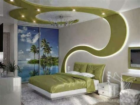 creative false ceiling design for bedrooms with drywall