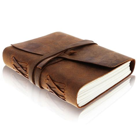 leather journal writing notebook antique handmade