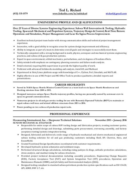 Ted Resume by Ted Rickerl Resume