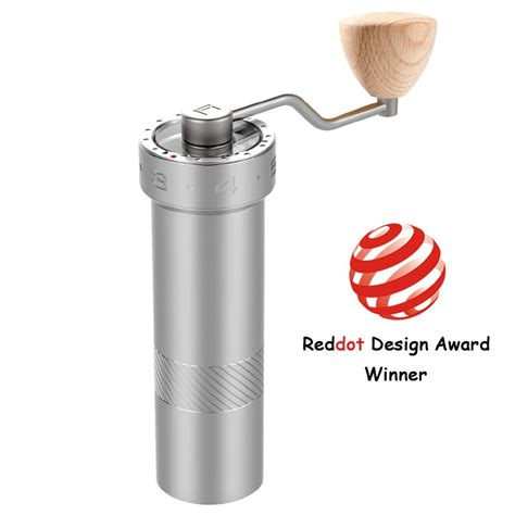 Discover the best coffee grinders in best sellers. Coffee Charge | Espresso Manual Coffee Grinder Super High-Quality Portable Conical Burr Hand ...