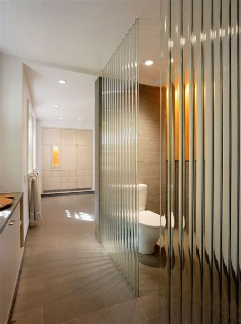 frosted glass wall panels bathroom modern designing tips