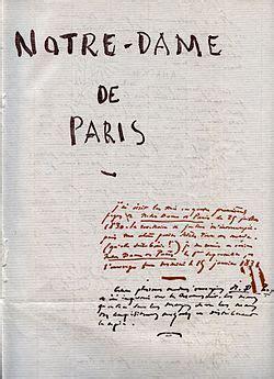 notre dame de paris roman wikipedia