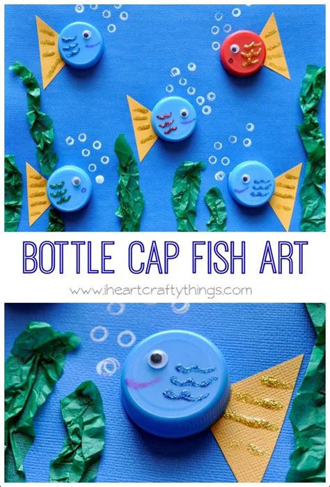 70 creative sea animal crafts for creatures 596 | c71574bc217652238449d831d8a6a4ea