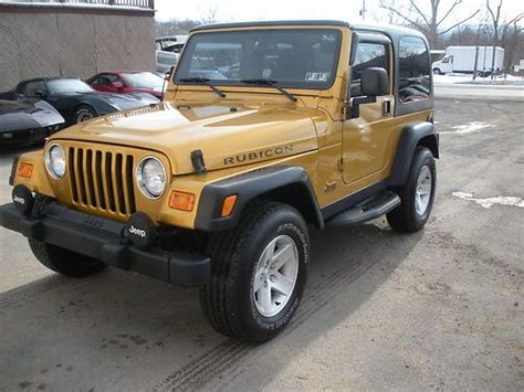 used 2 door jeep rubicon sell used 2003 jeep wrangler rubicon 4x4 hard top 2 door