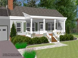 small house with ranch style porch front porch designs With ranch home designs with porches