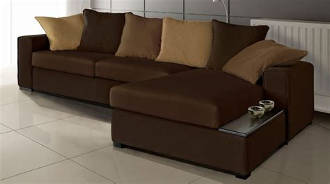 photos canapé d 39 angle convertible tissu pas cher canape d angle marron maison design wiblia com