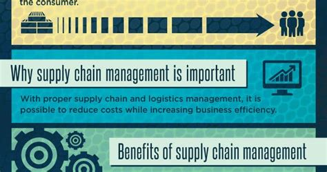 supply chain management infographic   fabacus