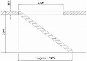 Wwwle metalnet calculer un escalier droit for Plan de travail exterieur en bois 6 exemple descalier tournant bois metal avec marches en
