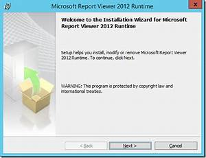 code on time deployment dedicated server installing With microsoft report viewer 2012