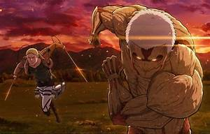Wallpaper armored, Reiner Braun, burning eyes, Attack On ...