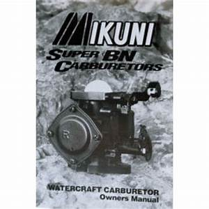 Mikuni Carb Tuning Manual