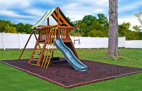 swing set for 17 best images about rubber playground mulch on 5963